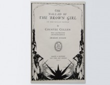 <em>The Ballad of the Brown Girl</em> by Countee Cullen